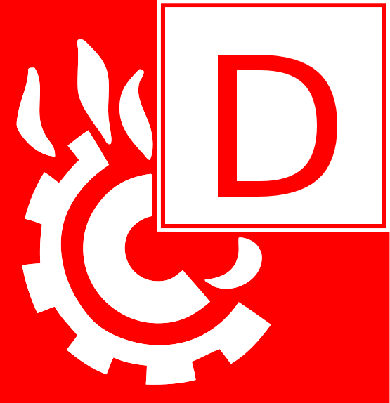 Symbol Brandklasse D